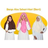 Bergo Sehari-Hari Berri Best Seller Hijab Alsa Jilbab Instan Kaos Terl