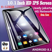 10.1 Inch Ten Core 4G GSM Network WiFi Tablet ram 8GB 128 G PC Android