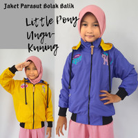Jaket Anak Little Pony Parasut