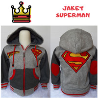 Jaket Anak Superman