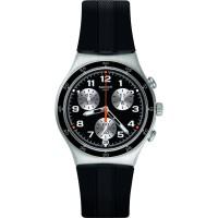 Swatch YCS598 - Jam Tangan Pria Chrono - Hitam Silver