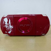 psp slim 2000 red second 8gb full game