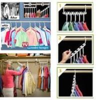 AY Gantungan Baju Ajaib Set 8 Pcs Magic Hanger