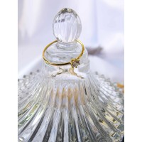 DearMe - BEATRICE Ring (S925 Silver with Crystals & 18KGold Plating)