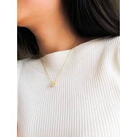 DearMe - CECILIA Necklace (925 Sterling Silver with 18K Gold Plating)