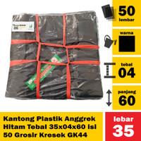 A11 - Kantong Plastik Anggrek Tebal 35x04x60 isi 50 Grosir Kresek