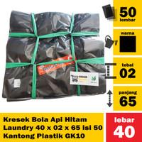 A13 - Kresek Bola Api Laundry 40 x 02 x 65 isi 50 Kantong Plastik