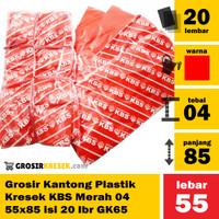 A17 - Grosir Kantong Plastik Kresek KBS 04 55x85 isi 20 lbr