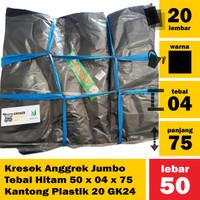 A16 - Kresek Anggrek Jumbo Tebal 50 x 04 x 75 Kantong Plastik 20