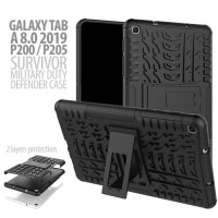 Samsung Galaxy Tab A8 2019 /P205 With SPen Rugged Armor Stand / Hybrid