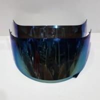 Flat visor iridium blue pnp kyt r10 kyt rc7 kyt k2rider mds viktory