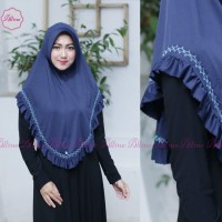Hijab Standard Rempel Smoke Original Alline Hijab