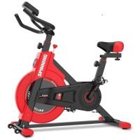 Spin Bike Sepeda Statis FS 9320 RED Alat Fitnes Spinning