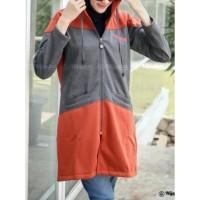 Jaket muslimah Hijacket Hyura all size M fit to L original