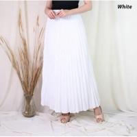Rok Formal Panjang Plisket Payung - Pleated Skirt Maxi - Prisket