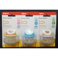 Empeng Mainan Bayi Anak Pigeon Silicone Pacifier Step 1 2 3 SBIC00723