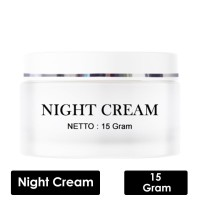 MELLYDIA NIGHT CREAM WHITENING - MELLYDIA NIGHT CREAM BPOM ORIGINAL