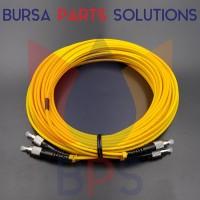 Double Round Optic Fibre Cable 10 Meter / Kabel Optik 10 Meter Dobel