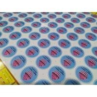 Cetak Print Stiker Vinyl Meteran Merek Ritrama