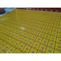 Cetak Print Stiker Vinyl Meteran Merek Quantac