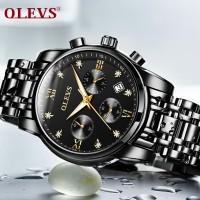 MURAH OLEVS jam tangan pria jampria jam pria Pengatur waktu yang