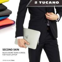 Ternama Tucano Sleeve For Macbook 13 Second Skin Elements Blue