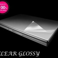 Dijual Garskin Skin Protector Laptop Clear Bening Transparan Glossy 10