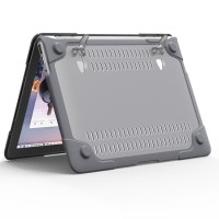 Paling Terpopuler Baru Shockproof Armor Case With Stand For Macbook