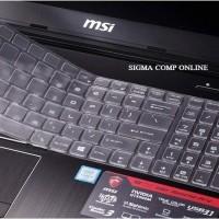 Terhot Msi Keyboard Cover Protector Gl62, Gp62, Ge62, Ge63, Gs63, Pe60