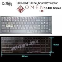 Paling Terlaris Keyboard Protector Hp Omen 15-Dh Series - Drskin