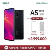 OPPO A5 2020 Smartphone 4GB/128GB Garansi Resmi OPPO Indonesia