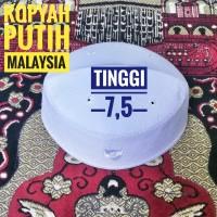 Kopyah Putih Songkok Putih Peci Putih Model Malaysia - Putih