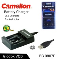 Charger Camelion USB Charging AA/AAA BC-0807