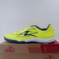 Sepatu Futsal Specs Acc Lightspeed Reborn IN Yellow Blue 400948 Ori