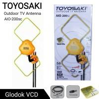 Antena TV Outdoor / Luar Toyosaki AIO 200SC