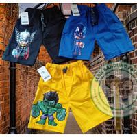 Celana Pendek Led Superhero Celana Anak Laki Laki Nyala