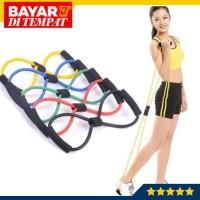 Tali Stretching Yoga Fitness Wanita Exercises Gym Resistance Band Arms