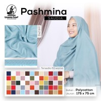 Pashmina Hijab Cod Asera Part 1 Jilbab Original Saudia Rawis SBIB2355