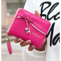 Dompet Lipat Wanita Style Pocket Wallet Lily Walet Handbag Purse Cewek