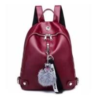 Tas Ransel Wanita Cewek Back Pack Shoulder Bag Ayana Backpack Waistbag