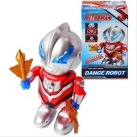 Ultraman Dance Robot No.1907B - Mainan Robot Dance Super Hero