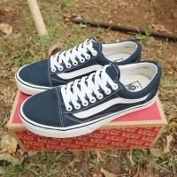 sepatu vans old skool otw premium best seller termurah basic black