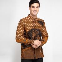 [Arthesian] Kemeja Batik Pria - Vathar Batik Printing