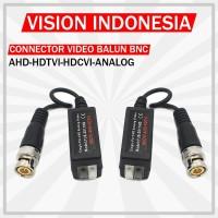 CONNECTOR VIDEO BALUN BNC AHD/HDTVI/HDCVI/ANALOG BAGUS