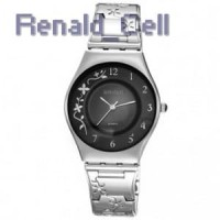 WEIQIN Woman Fashion Watch Water Resistant 30m W4824 Silver Black