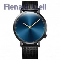 Xiniu Jam Tangan Kasual Pria Stainless Steel A03502 Black Blue