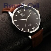 Yazole Jam Tangan Analog 318 Black Brown