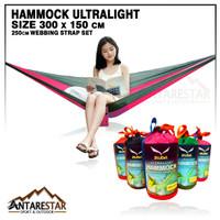 Hammock Murah Ultralight Ayunan Gantung Camping Outdoor Ringan