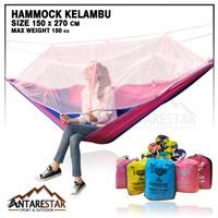 Hammock Kelambu Hamok Tempat Tidur Ayunan Kasur Gantung camping/hiking