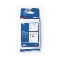 Brother Label TZe-R231 Ribbon Tape Cassette Black on White 12mm x 4m